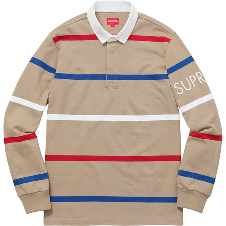Striped Rugby (Tan)