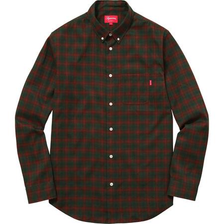 Mini Shadow Plaid Shirt (Brown)