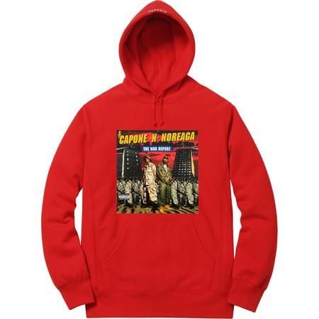 The War Report Hooded Sweatshirt (Red)