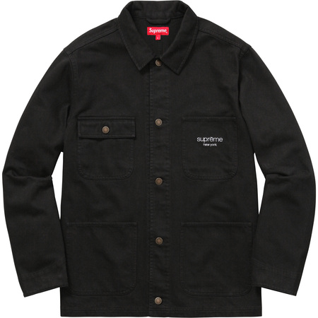 Denim Chore Coat (Black)