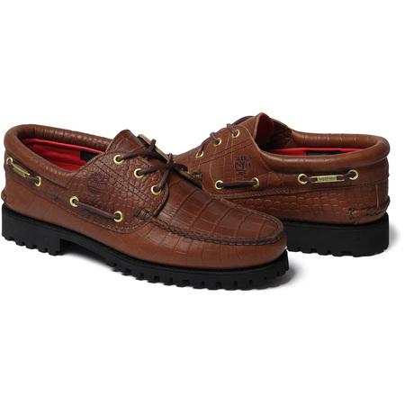 Supreme®/Timberland® 3-Eye Classic Lug Shoe (Brown)