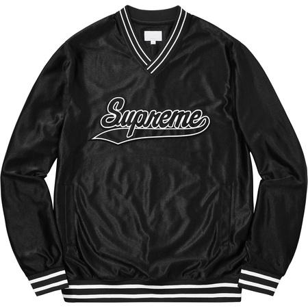 Baseball Warm Up Top (Black)