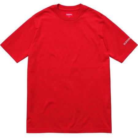 Sleeve Logo Tee (Red)