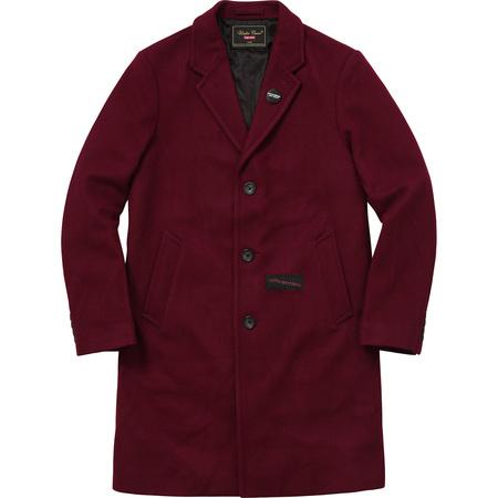 Supreme®/UNDERCOVER Wool Overcoat (Burgundy)