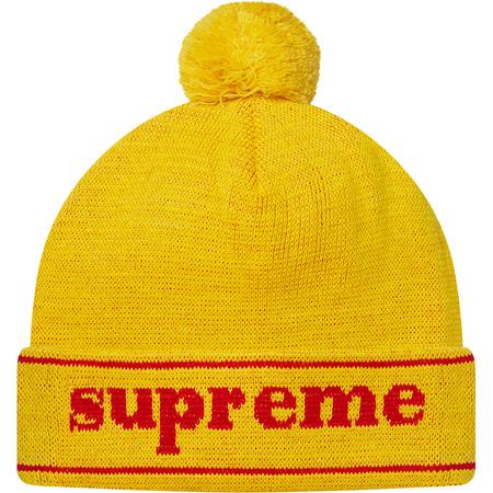 Cuff Logo Beanie (Yellow)