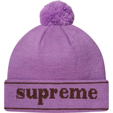 Cuff Logo Beanie (Lavender)