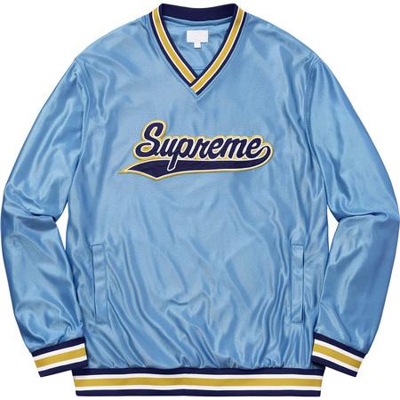 Baseball Warm Up Top (Light Blue)