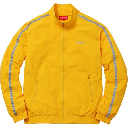 3M® Reflective Stripe Track Jacket (Yellow)