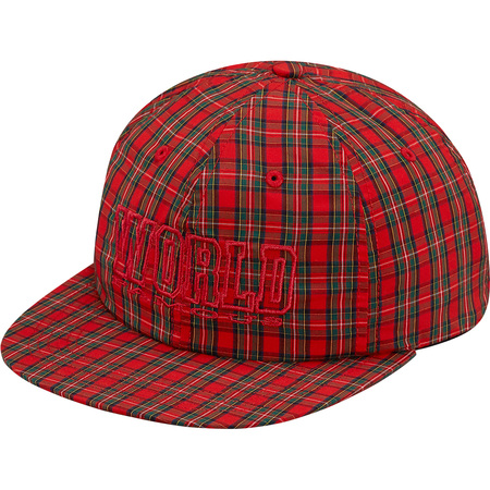 World Famous Plaid 6-Panel (Red)