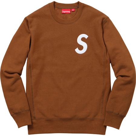 S Logo Crewneck (Copper)