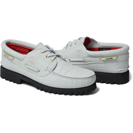 Supreme®/Timberland® 3-Eye Classic Lug Shoe (White)