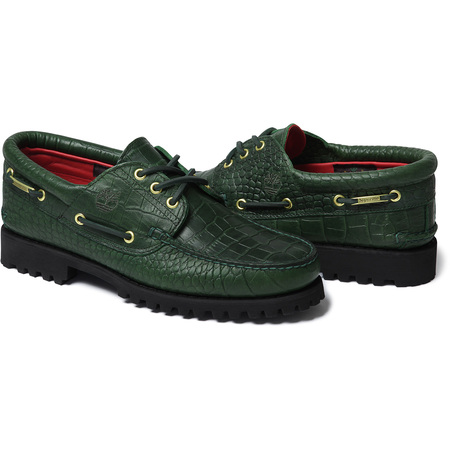 Supreme®/Timberland® 3-Eye Classic Lug Shoe (Green)