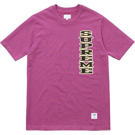 Vertical Logo Tee (Pink)