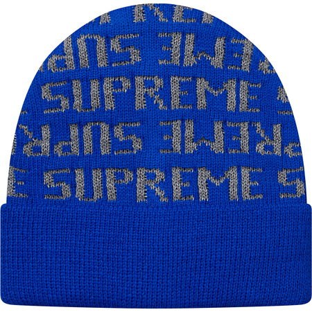 Reflective Repeat Beanie (Royal)