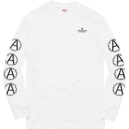 Supreme®/UNDERCOVER Anarchy L/S Tee (White)