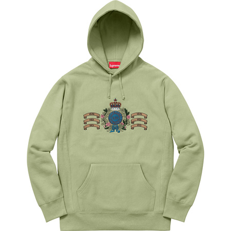 Crest Hooded Sweatshirt (Sage)