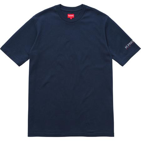 Sleeve Logo Tee (Navy)