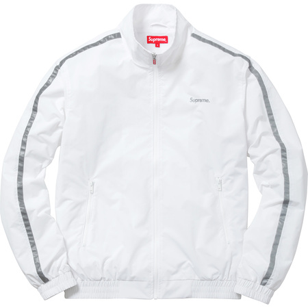 3M® Reflective Stripe Track Jacket (White)