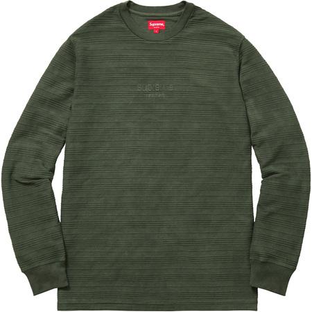 Raised Stripes L/S Top (Green)