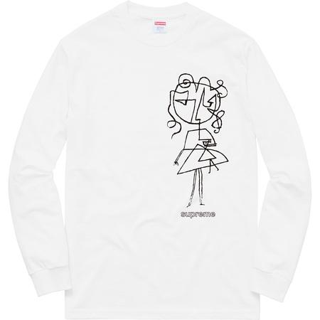 Sketch L/S Tee (White)