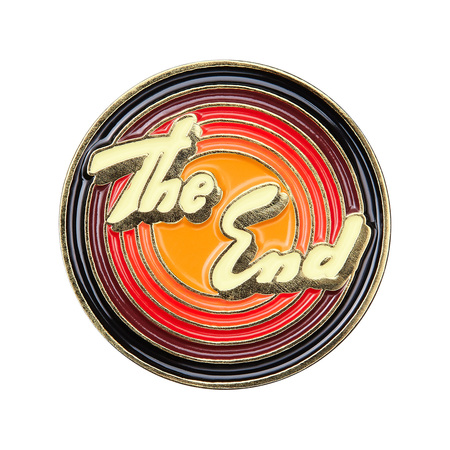 Supreme®/Tom & Jerry© The End Pin (Gold)