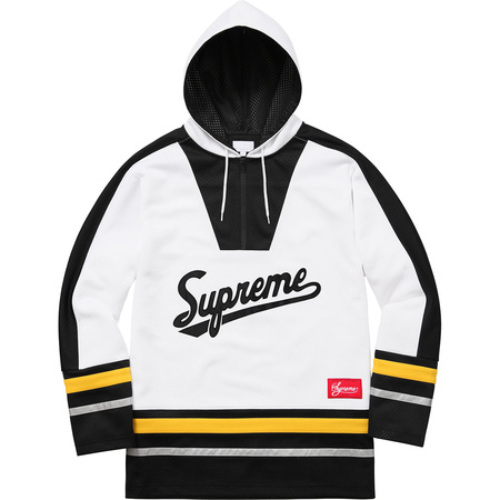 3M® Reflective Hooded Hockey Top (White)