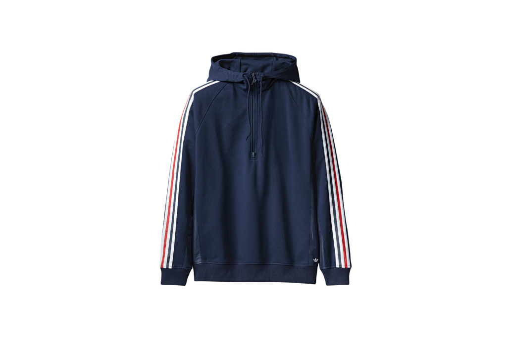 ADIDAS PALACE FRENCH TERRY HOOD NIGHT INDIGO / WHITE