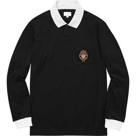 Sideline L/S Polo (Black)