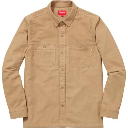 Moleskin Field Shirt (Camel)