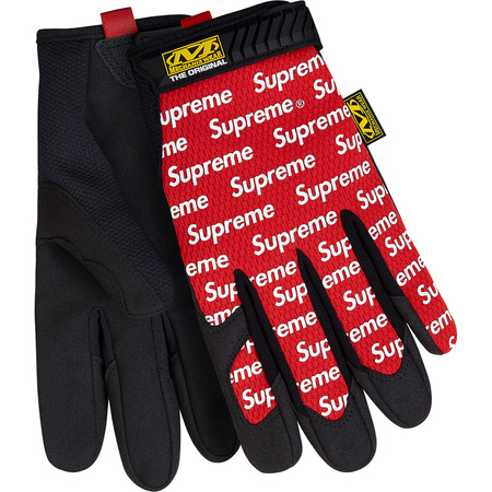 Supreme®/Mechanix® Original Work Gloves (Red)