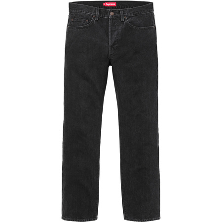 Stone Washed Black Slim Jeans (Black)
