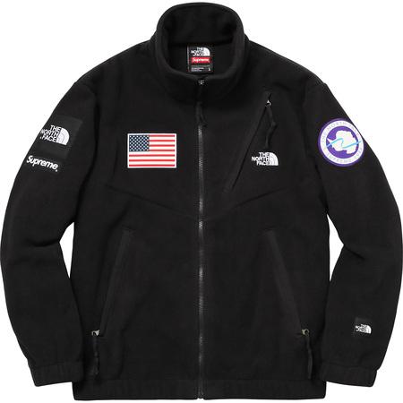 Supreme®/The North Face® Trans Antarctica Expedition Fleece Jacket (Black)