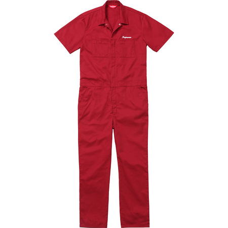 S/S Coveralls (Red)