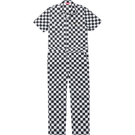 S/S Coveralls (Checker)