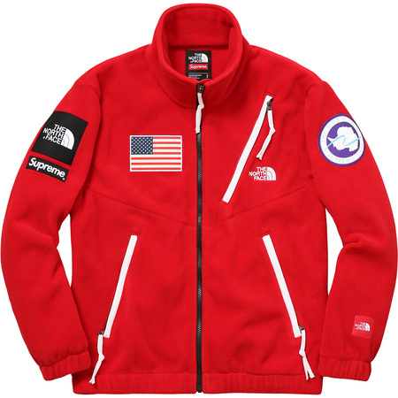 Supreme®/The North Face® Trans Antarctica Expedition Fleece Jacket (Red)