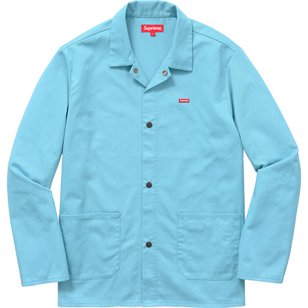 Shop Jacket (Baby Blue)