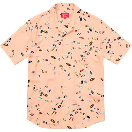 Pills Rayon Shirt (Peach)