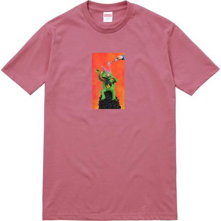 Mike Hill Brains Tee (Dark Rose)