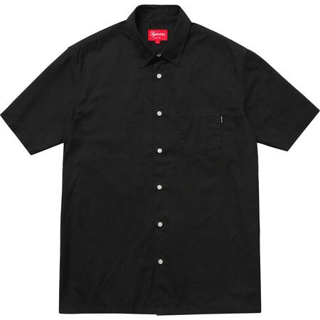 Light S/S Oxford Shirt (Black)