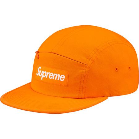 Front Panel Zip Camp Cap (Orange)