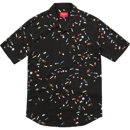 Pills Rayon Shirt (Black)