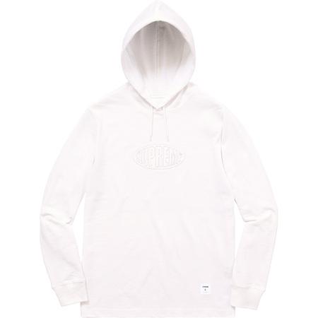 Warp Hooded L/S Top (White)