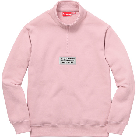 3M® Reflective Excellence Half Zip Sweat (Dusty Pink)