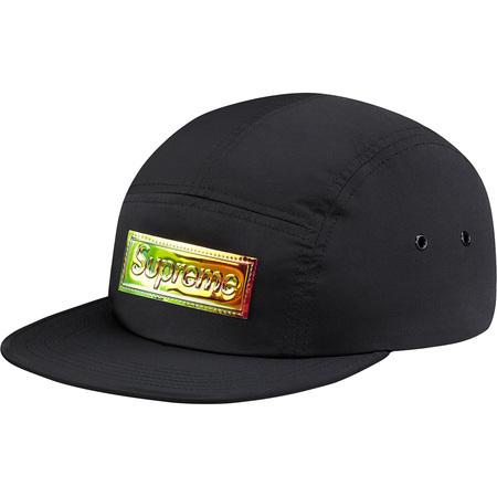 Iridescent Logo Camp Cap (Black)