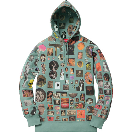 Thrills Hooded Sweatshirt (Seafoam)