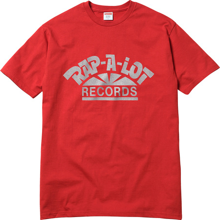Supreme®/Rap-A-Lot Records Tee (Red)