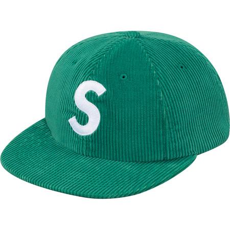 Corduroy S Logo 6-Panel (Green)