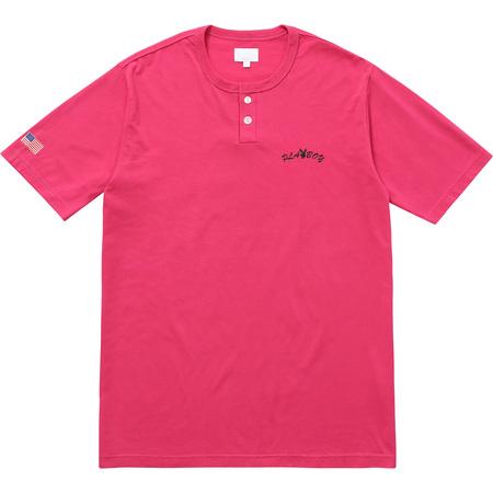 Supreme®/Playboy© S/S Henley Top (Pink)