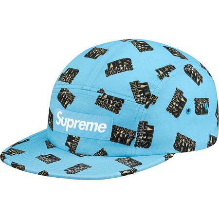 Supreme Shit Camp Cap (Light Blue)