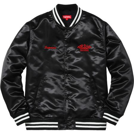 Supreme®/Rap-A-Lot Records Satin Club Jacket (Black)